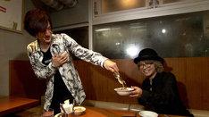 DAIGOとHYDE。(c)日本テレビ