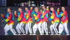 左からKIMI、KENZO、U-YEAH、ISSA、TOMO、YORI、DAICHI。(写真提供:エイベックス)