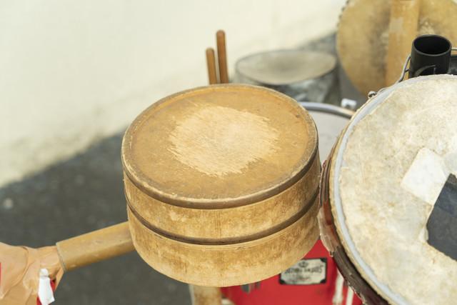 木曽ヒノキの桶。