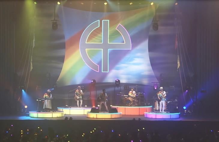 HY「no rain no rainbow」ライブミュージックビデオのワンシーン。