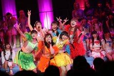 新メンバーをお披露目したメリーメリー▽ファンファーレ(▽はハートマーク)。(Photo by cherryman)
