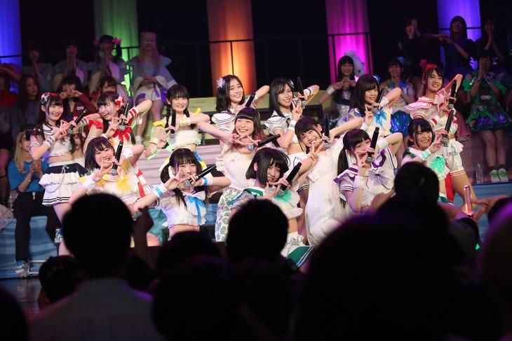 虹のコンキスタドール with 藤咲彩音&鹿目凛(Photo by cherryman)