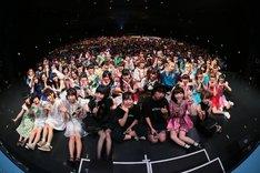 「ディアステージとパーフェクトミュージックがなにかを発表する合同ライブ。きりひらけ!れいわっ!at ZEPP TOKYO」の様子。(Photo by cherryman)