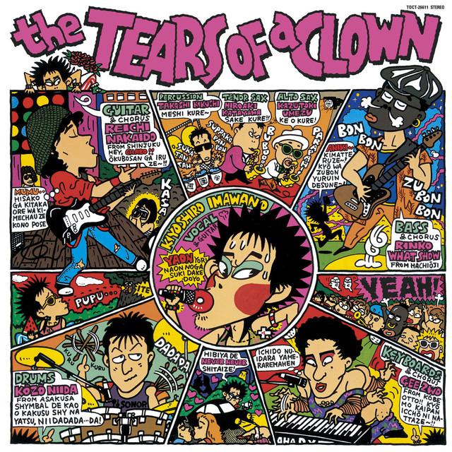 1986年10月にリリースされたライブアルバム「the TEARS OF a CLOWN」。