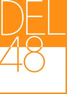 DEL48のロゴ (c)YKBK48