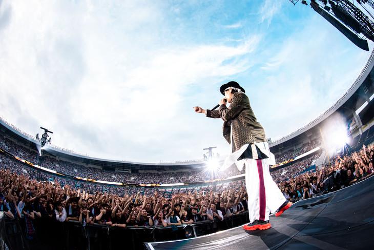 RADWIMPS「ANTI ANTI GENERATION TOUR 2019」千葉・ZOZOマリンスタジアム公演の様子。(Photo by Takeshi Yao)