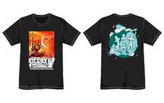 フテネコ×打首獄門同好会「猫の惑星」コラボTシャツのデザイン。