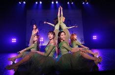 「OH MY GIRL JAPAN 2nd ALBUM発売記念スペシャルライブ」の様子。(写真提供:アリオラジャパン)