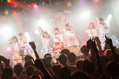 天晴れ!原宿の結成3周年記念ワンマンライブの様子。(写真提供:キングレコード)