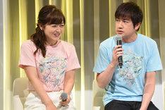 左から水卜麻美(日本テレビアナウンサー)、羽鳥慎一。