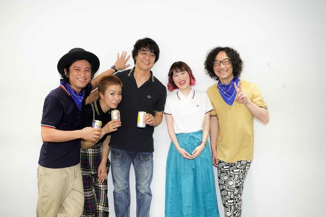 「Reiny Friday -Rei & Friends- Vol.10 Celebration!」の出演者たち。(撮影:上飯坂一)