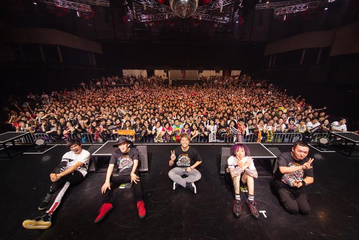 FLOW「FLOW LIVE TOUR 2019『TRIBALYTHM』」東京・新木場STUDIO COAST公演の様子。(撮影:木村泰之)