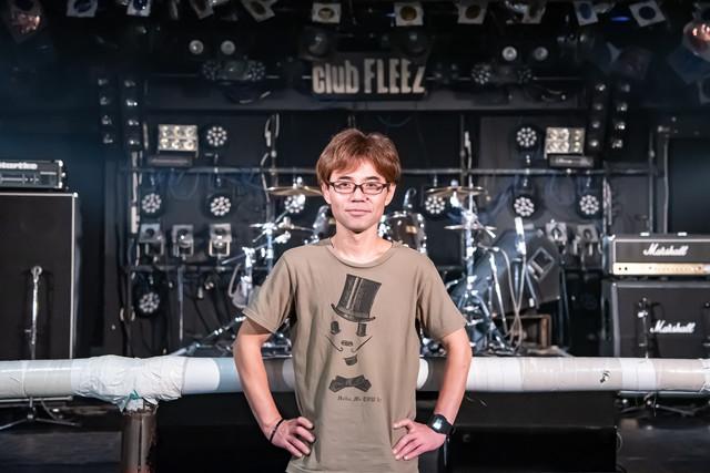 高崎clubFLEEZの現店長・本多裕和氏。