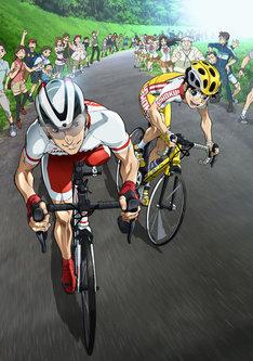 """「アニ×パラ あなたのヒーローは誰ですか」第7弾""""パラサイクリング""""編キービジュアル。(c)渡辺航(秋田書店) / NHK"""
