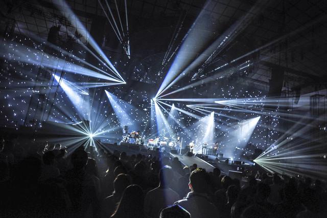 Suchmos「Suchmos ARENA TOUR 2019」福岡国際センター公演の様子。(Photo by Shohei Maekawa)