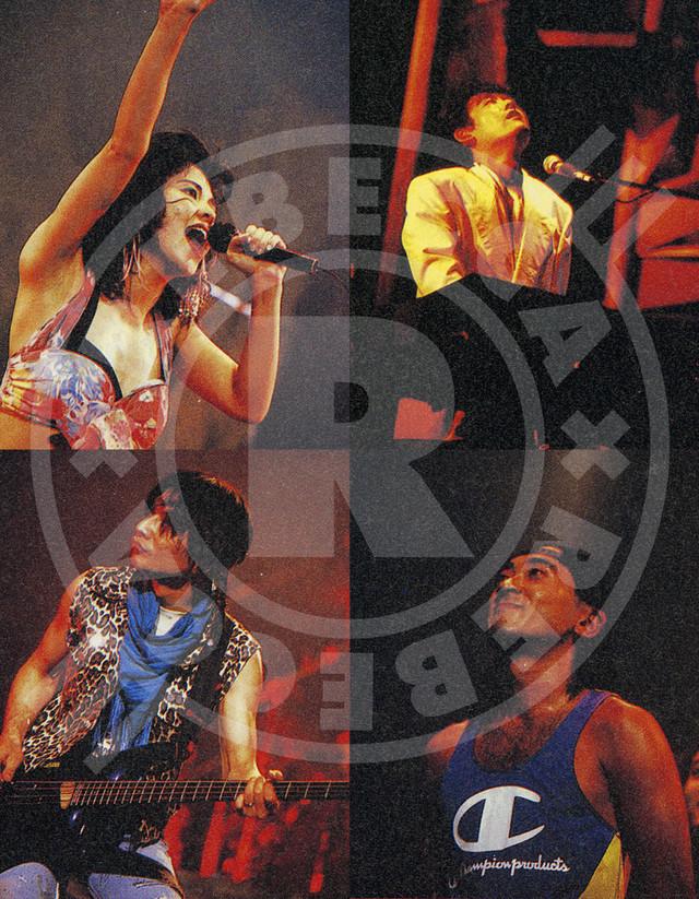 REBECCA「ライヴ・フィルム『REBECCA BLOND SAURUS TOUR' 89 in BIG EGG-Complete Edition-』(5.1chリマスター版)」ティザー画像