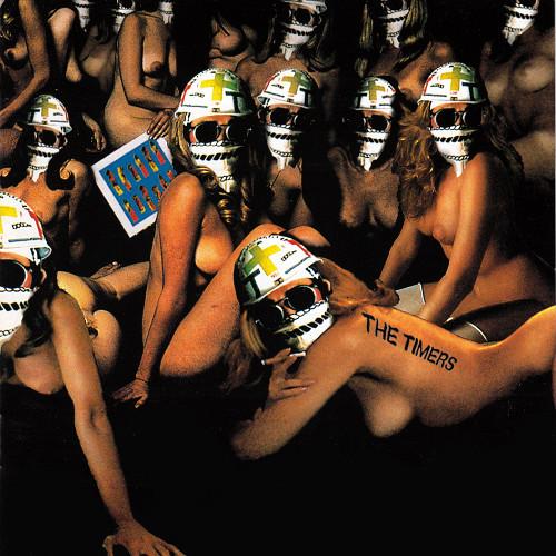 1995年4月にリリースされたTHE TIMERSの最後のアルバム「不死身のタイマーズ」。これもまた過激さゆえに、インディーズレーベルのSWIM RECORDSから出されている。