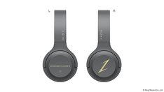 ももいろクローバーZモデルのワイヤレスステレオヘッドフォン「h.ear on 2 Mini Wireless (WH-H800) MOMOIRO CLOVER Z LIMITED EDITION」。