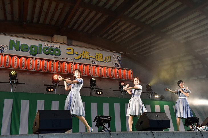 新潟・佐渡で16周年記念コンサートを行ったNegicco。