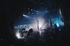 Nulbarich「Nulbarich ONE MAN TOUR 2019- Blank Envelope-」韓国・MUV HALL公演の様子。