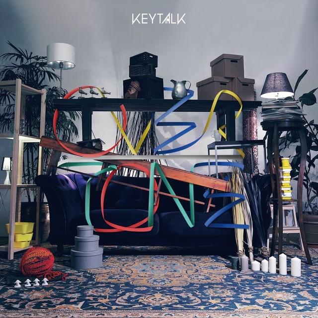 KEYTALK「OVERTONE」初回限定盤A / Bジャケット(写真提供:後藤壮太郎)
