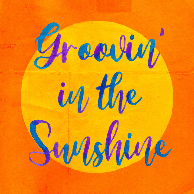 DJ HASEBE「Groovin' in the Sunshine feat. BASI & 向井太一」ジャケット