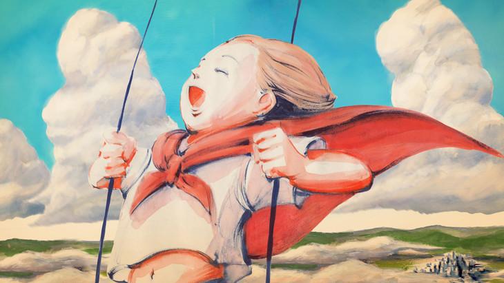 米津玄師「パプリカ」ミュージックビデオのワンシーン。