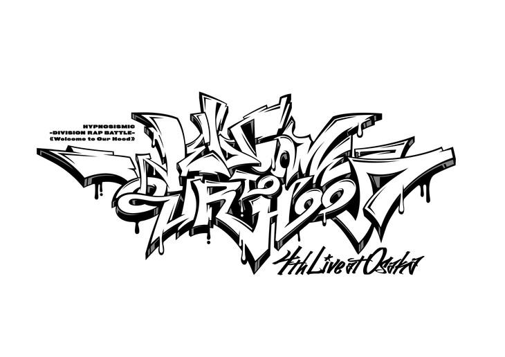 「ヒプノシスマイク-Division Rap Battle-4th LIVE@オオサカ《Welcome to our Hood》」ロゴ