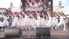 ラストアイドル「青春トレイン」パフォーマンス動画より。