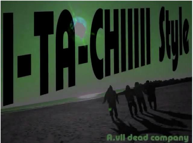 友人同士で作った「I-TA-CHIIIII Style」ミュージックビデオの1場面。