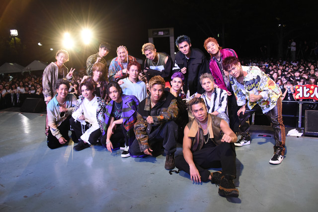 「THE RAMPAGE from EXILE TRIBE 5th Anniversary Special Event」の様子。