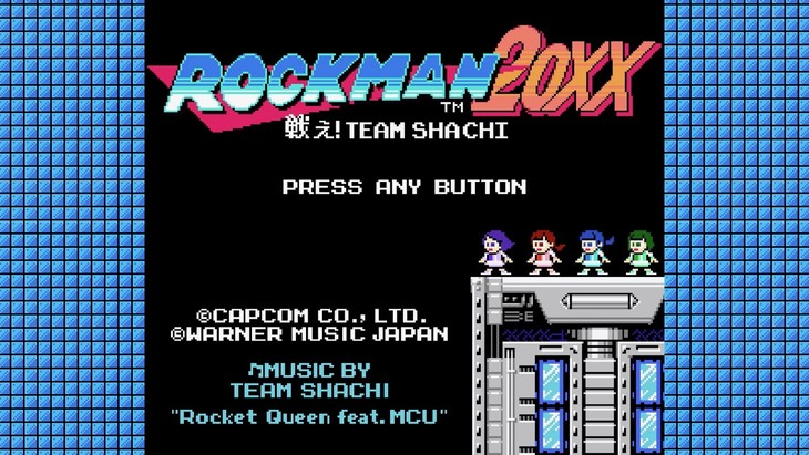 TEAM SHACHI「Rocket Queen feat. MCU」ミュージックビデオより。(c)CAPCOM CO., LTD. ALL RIGHTS RESERVED.