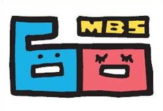 MBS開局60周年記念ロゴ。