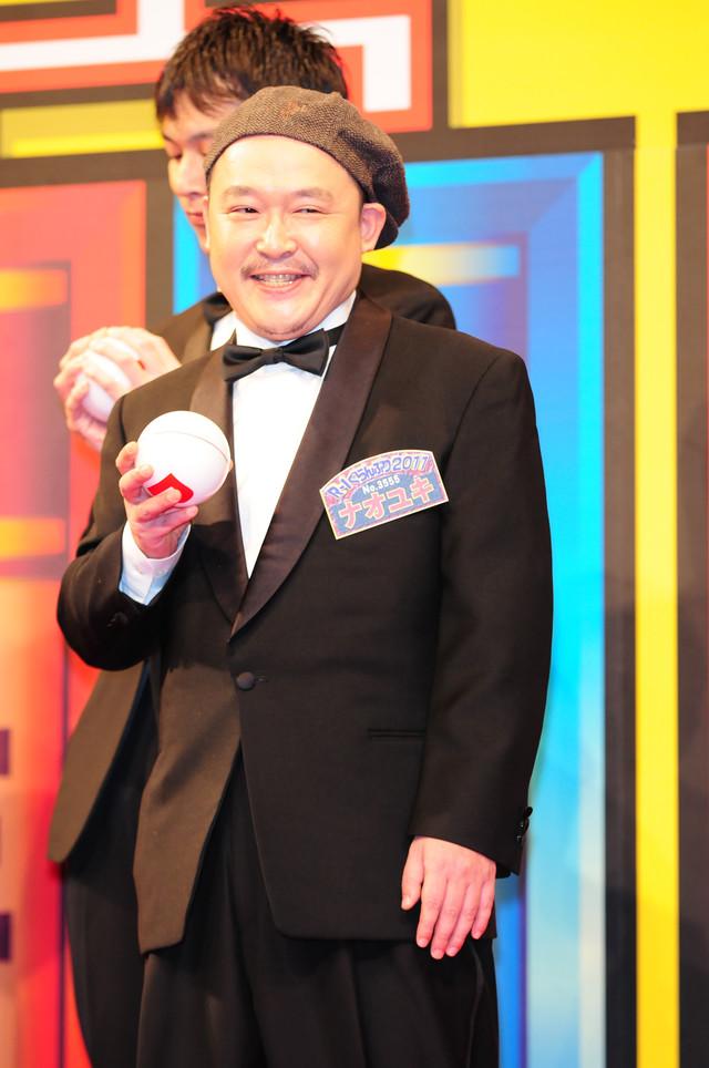 「優勝賞金500万円もらったら働きたくない」とコメントし、「見たまんまやん」と宮迫にツッコまれたナオユキ。