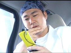広島ホームテレビ制作の深夜バラエティ「アグレッシブですけど、何か?」に出演する中島尚樹。写真は「限界キッド」の一場面。