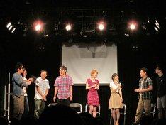 東京・表参道GROUNDにて開催されたザブングル松尾主催ライブ「フレンドリーマッチ」。ゲストはナイツ、狩野英孝、ザ・パンチ、宮島咲良、森田美位子。