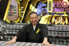 「IPPONグランプリ」大会チェアマンの松本人志。(c) 2012 フジテレビジョン/吉本興業
