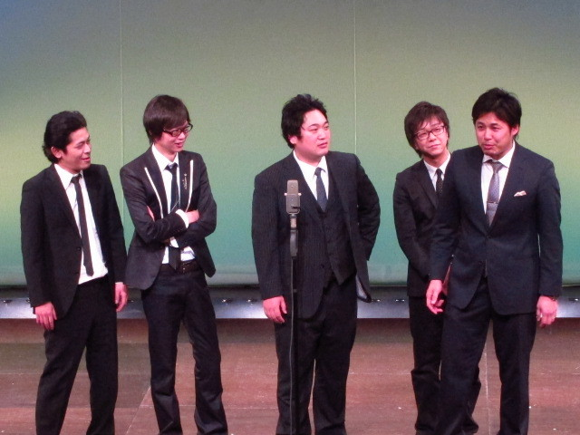 ちゅうえい、永沢、久保、風藤、平子の漫才。平子は上田の「どーもね、みんな最近どう、ハーブティの香り楽しんでる?」に挑戦。