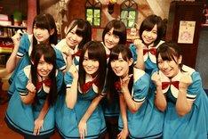 「NMB48 げいにん!」に出演中のNMB48。(c)VAP