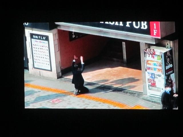 VTR「度胸試し対決」は余裕で和田の勝利に。