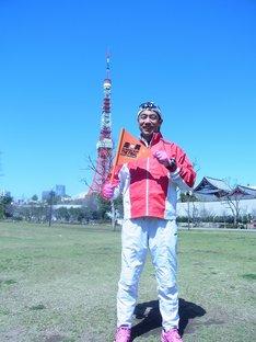 「走る男」シリーズ完結編となる「走る男THE FINAL~ニッポン一周ウルトラジョギングの旅~」をスタートさせた森脇健児。