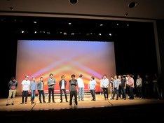 「FKD48 6th LIVE~確信~ 第二回総選挙結果発表!」リハーサルの様子。