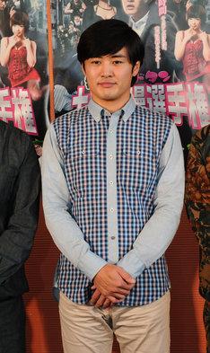 映画「ゴッドタン キス我慢選手権 THE MOVIE」主演・川島省吾役の劇団ひとり。
