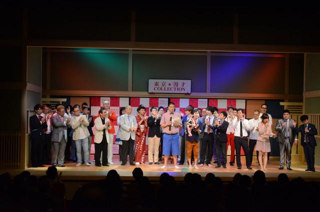 「平成25年度 漫才新人大賞」決勝戦の模様。