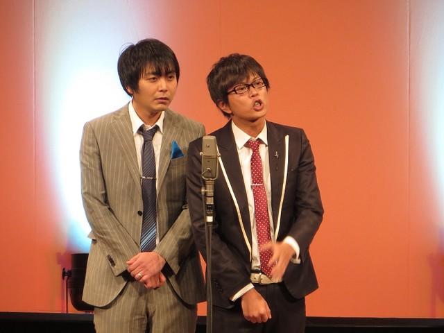 永沢がニューヒーローを熱演した磁石の漫才。