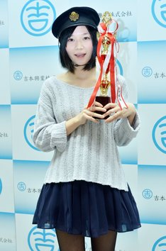 第2回「かわいすぎる女芸人No.1決定戦」1位のF2鈴川。