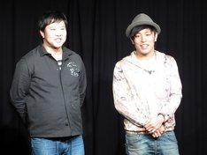 2月24日、東京・渋谷シアターDにて行われたアームストロングのトークライブ「トークストロング~ぜひきてください~」の様子。