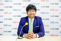 新番組「大谷ノブ彦 キキマス!」のパーソナリティを務める、ダイノジ大谷。(c)ニッポン放送
