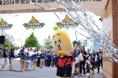 「開局50周年特別企画『テレビ東京フェスティバル』」スタートの瞬間。