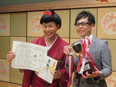 「平成26年度 漫才新人大賞」で優勝した母心。